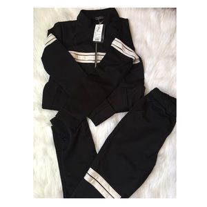 Other - 🚫NWT Black sweat suit